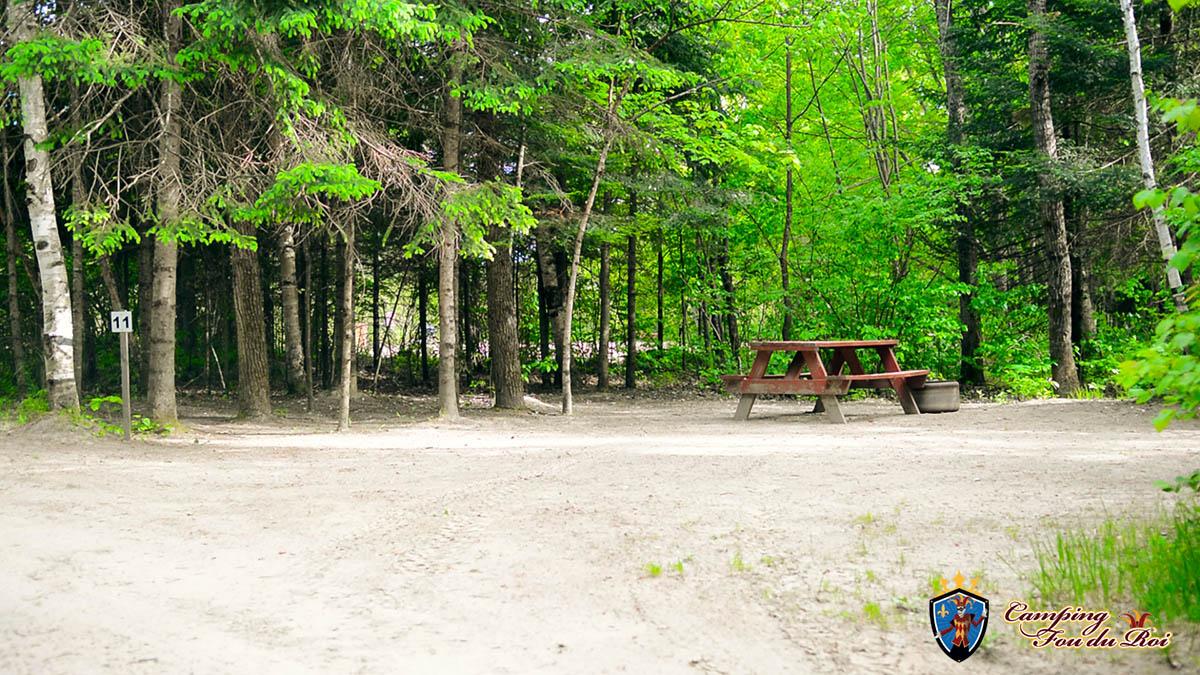 Camping Fou du Roi : Terrain #11