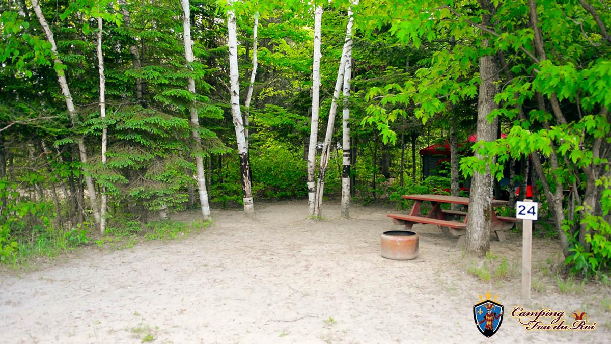 Camping Fou du Roi : Terrain #24