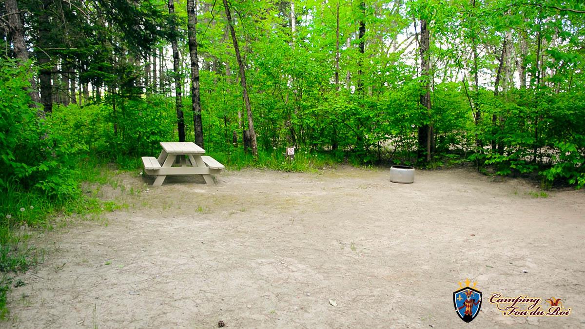 Camping Fou du Roi : Terrain #30