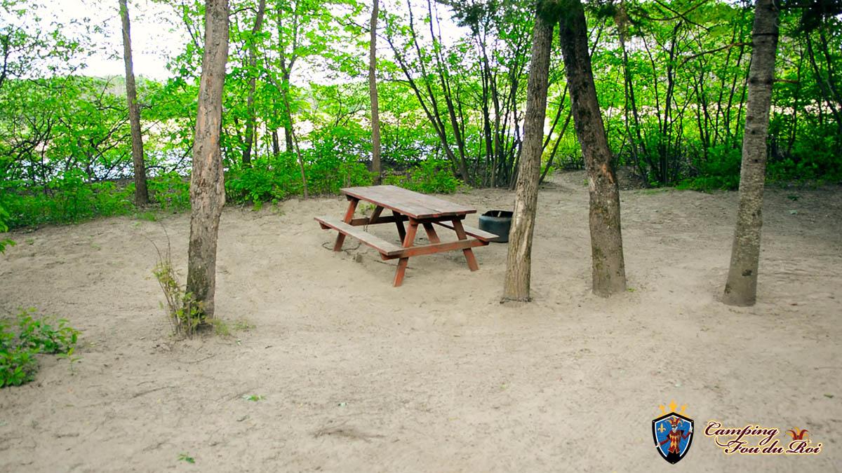 Camping Fou du Roi : Terrain #31