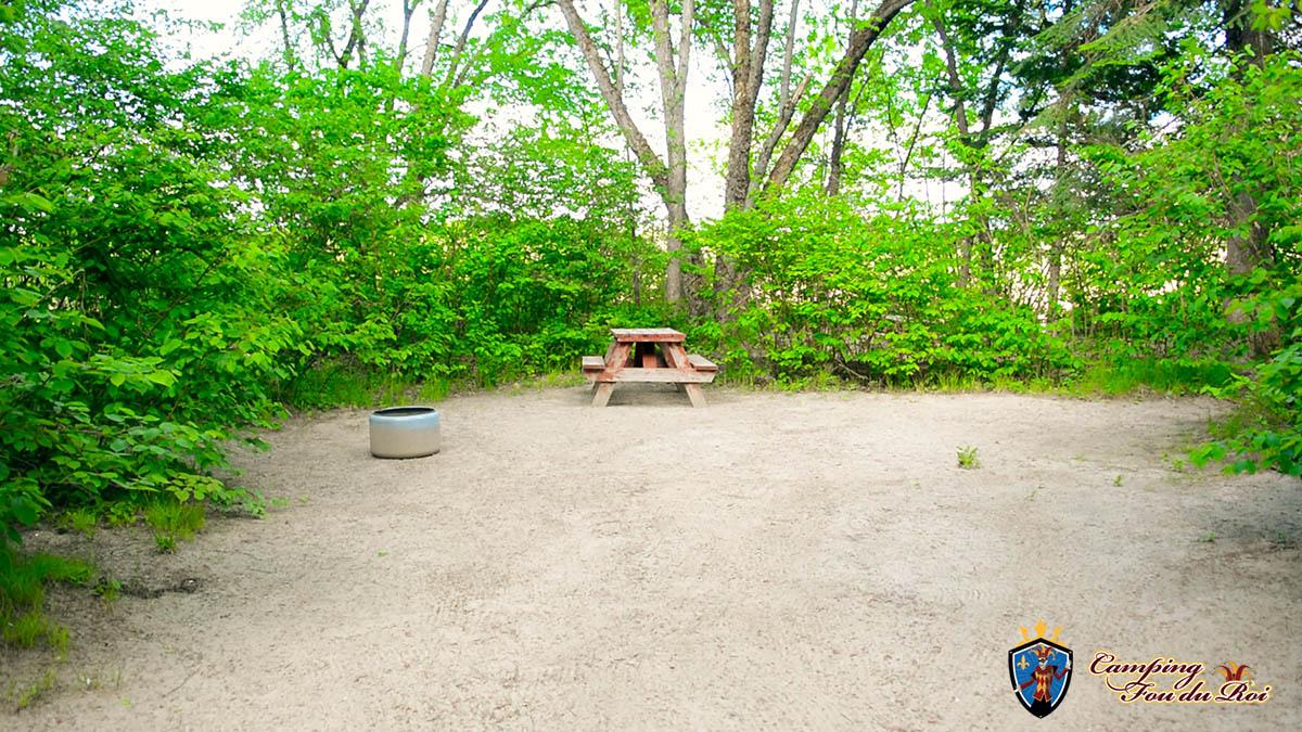 Camping Fou du Roi : Terrain #32