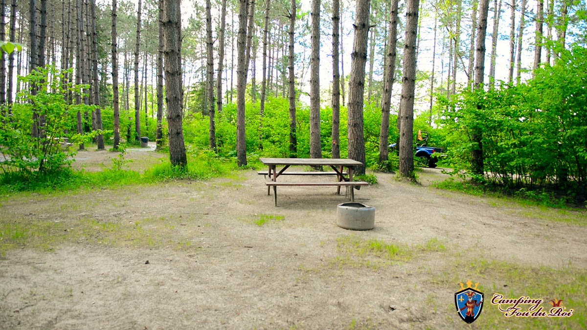 Camping Fou du Roi : Terrain #42