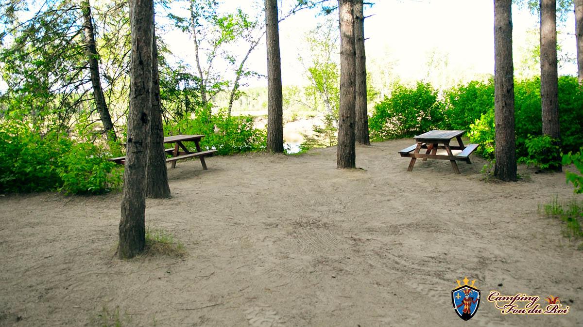 Camping Fou du Roi : Terrain #45