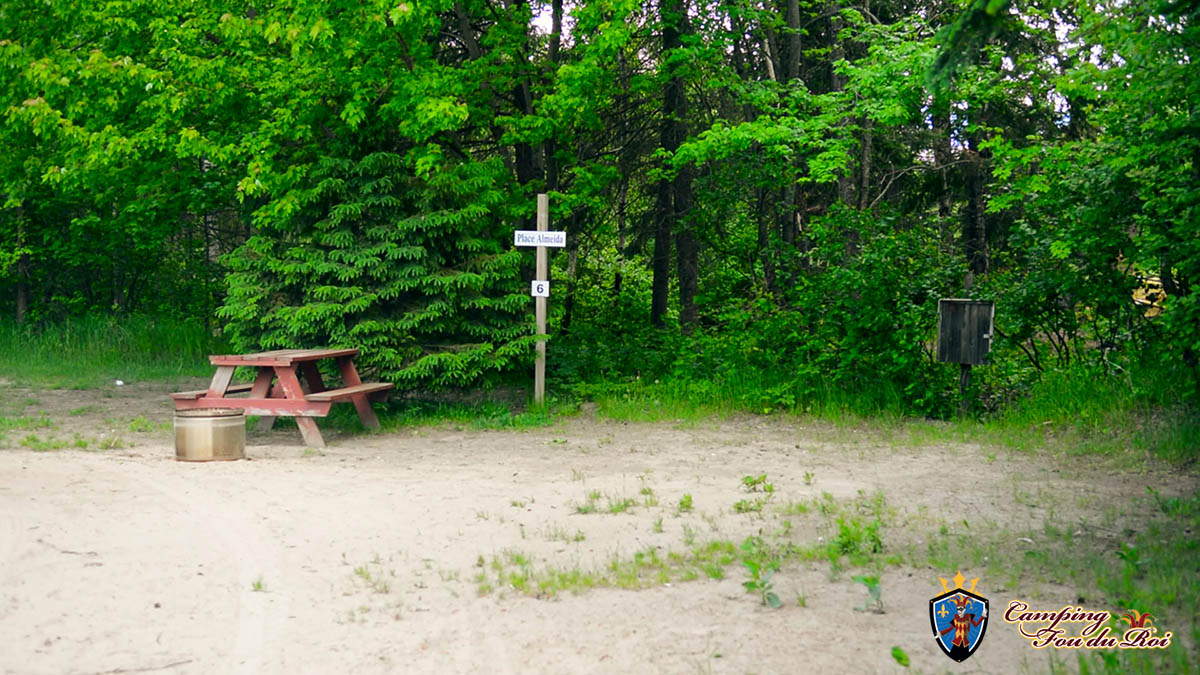 Camping Fou du Roi : Terrain #6