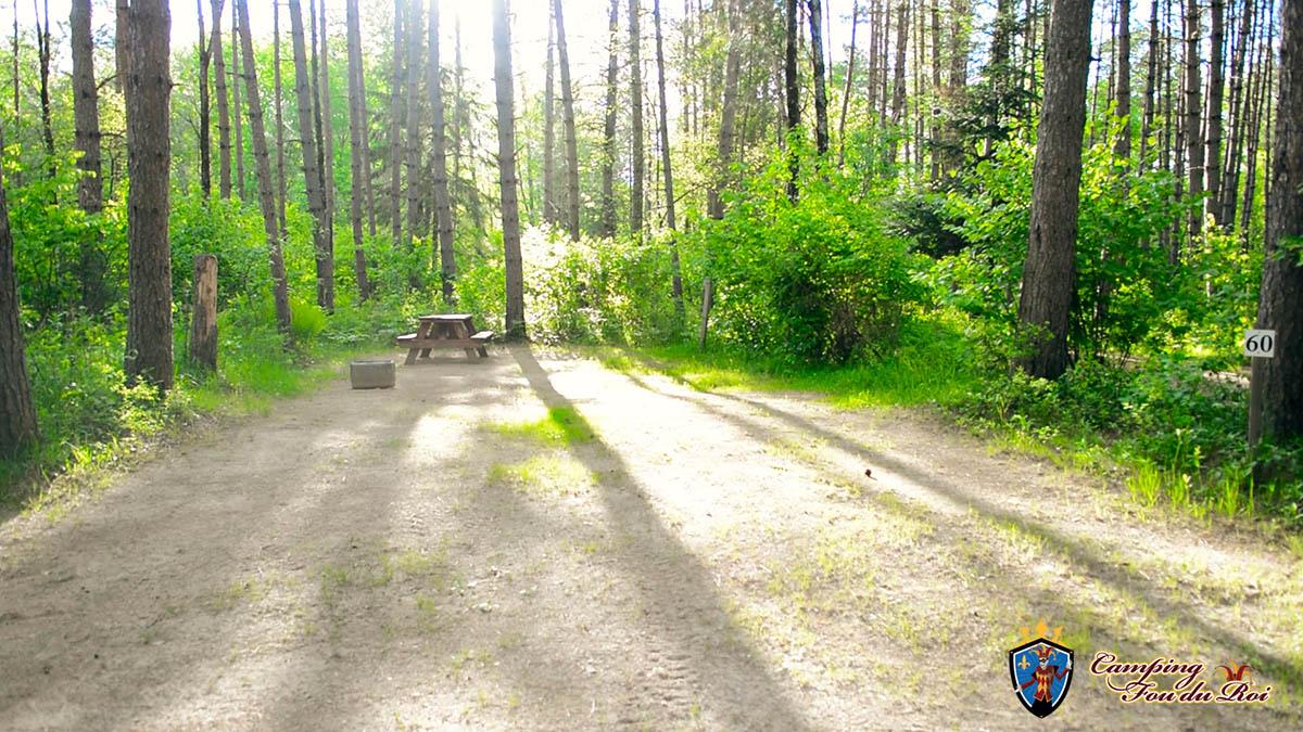 Camping Fou du Roi : Terrain #60