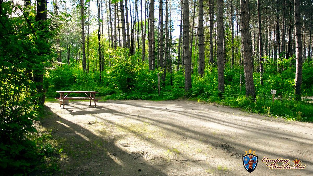 Camping Fou du Roi : Terrain #64